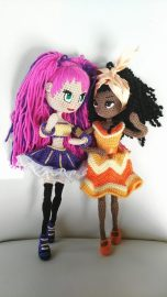 Emozioni Anigurumi - Mini Dolls
