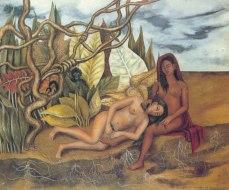 Due nudi nel bosco - Opera di Frida Kahlo del 1939