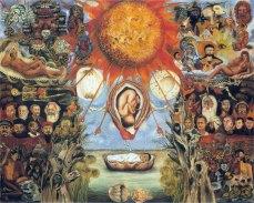 Mosè (o Il nucleo solare), 1945 – Frida Kahlo