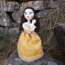 Pupillae Art Dolls - Art Doll Sarah The little princess