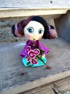 Pupillae Art Dolls -Doll Geisha