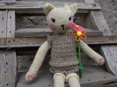 Pupillae Art Dolls - Gattina Teddy Cat