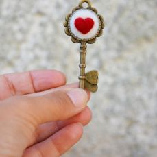 Pupillae Art Dolls - Heart Key Alice in Wonderlan