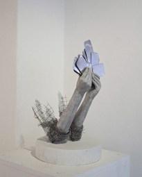 Lene Kilde - Sculpture Giocando a carte
