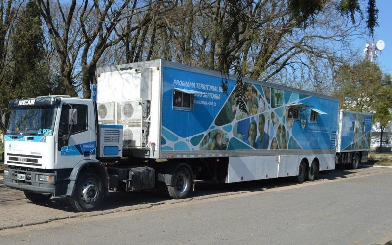 Camiones de salud comunitaria llegan a Regina