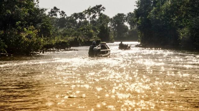 Auto, treno o camper - Brasile Amazzonia e Lencois Maranhenses lungo un iguarape