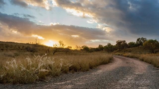 Western Australia paesaggio del north.