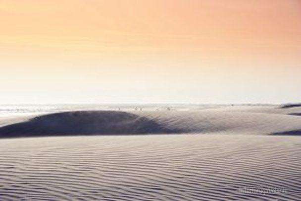 baja california ampia spiaggia di ensenada