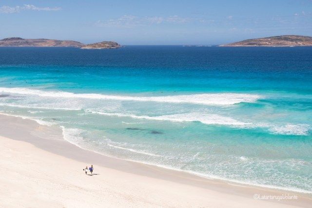 vedere il vestern australia, spiaggia infinita