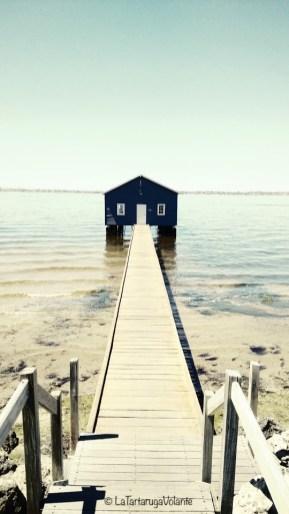 western australia perth blue house