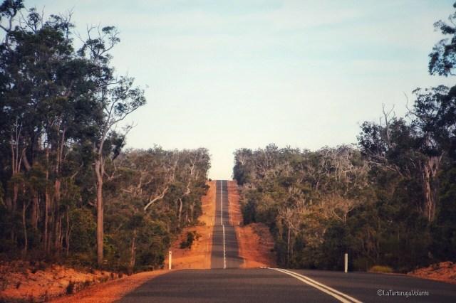 western australia sud, lunghe strade