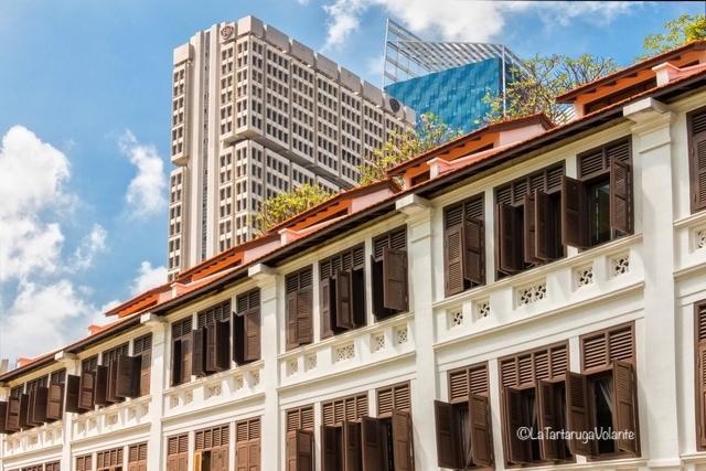 Singapore, stile coloniale e grattacieli