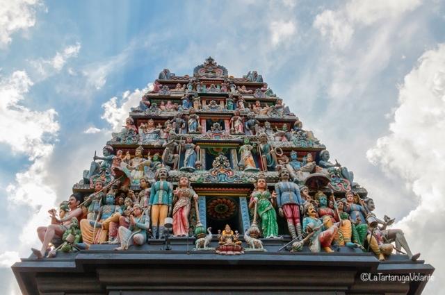Singapore, tempio indù