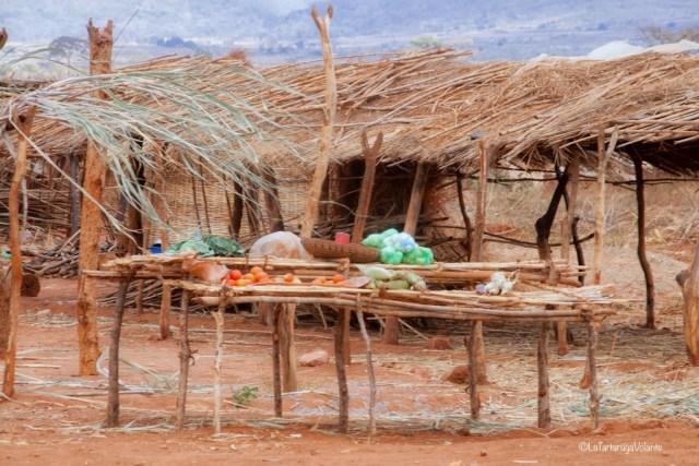 Malawi, negozio lungo la strada