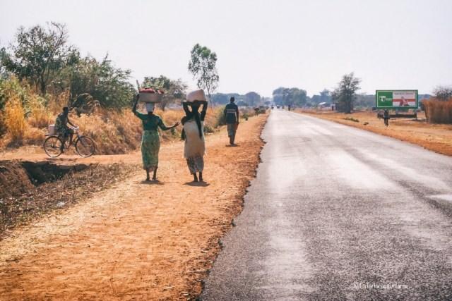 Malawi, strada per lo Zambia