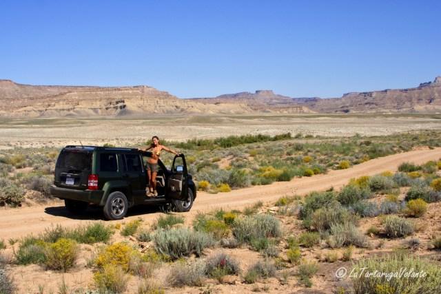 Monument Valley, furistrada bucato