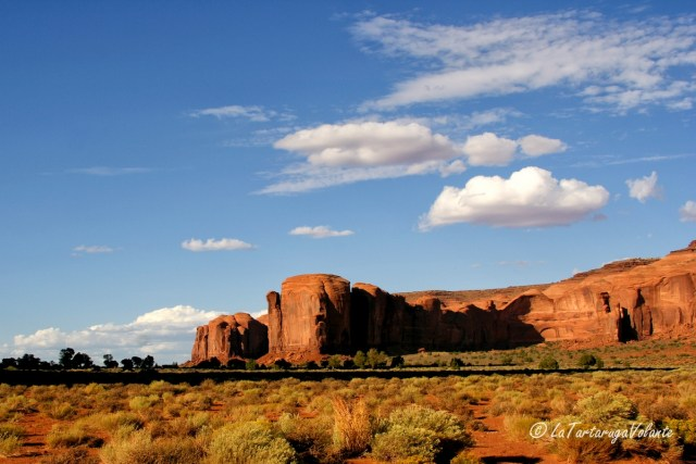 Monument Valley, all'arrivo