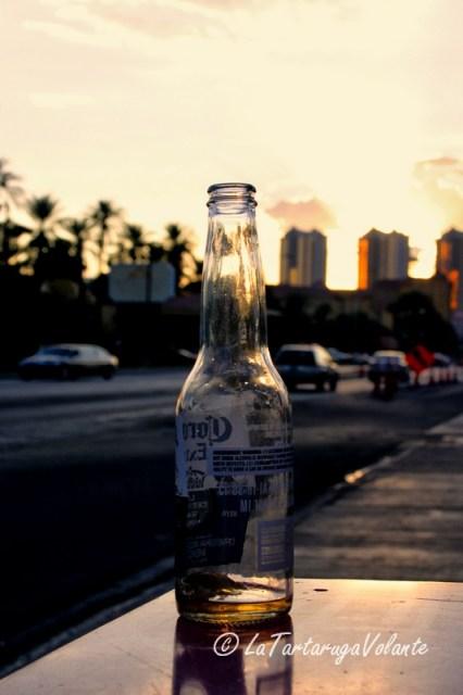 Las Vegas, bottiglia