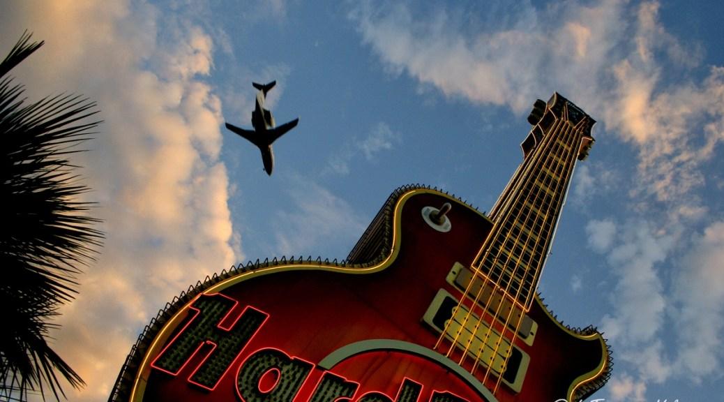 Las Vegas, chitarra gigante