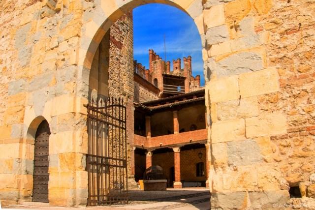 Marostica, castello inferiore porta