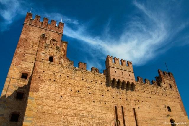 Marostica, castello inferiore scorcio