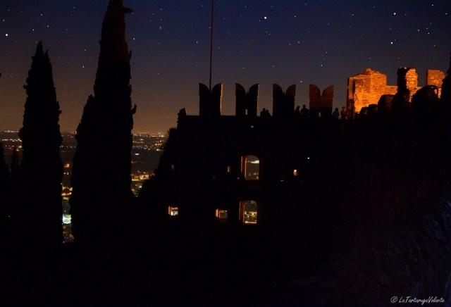 Marostica, scorcio di castello