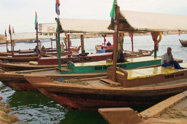 Dubai, barche al porto