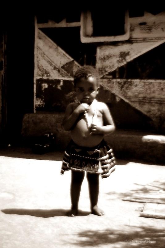 Sudafrica il Bimbo Ndebele