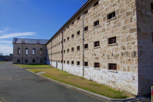 Fremantle prigione dal lato est