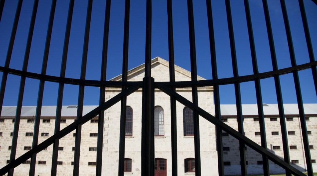 Fremantle prison gate