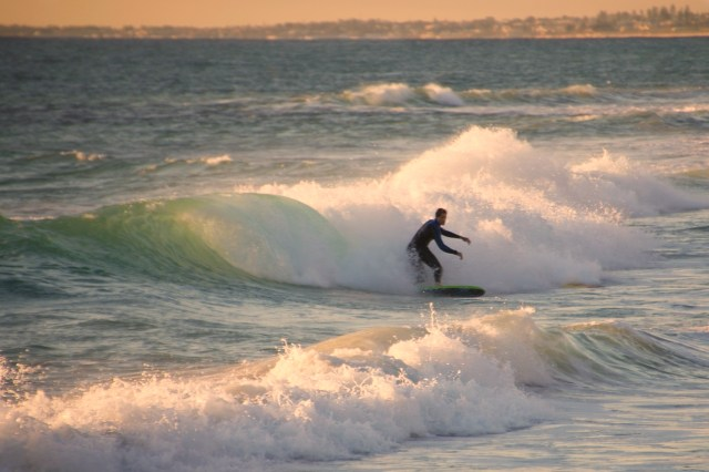 Fremantle surfer