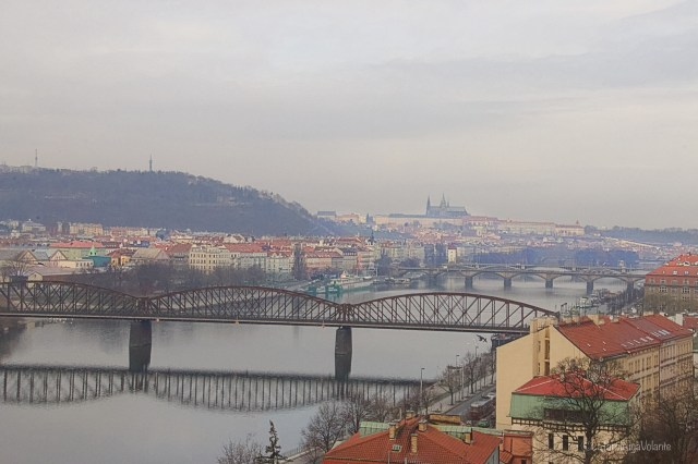 Praga, dal castello minore