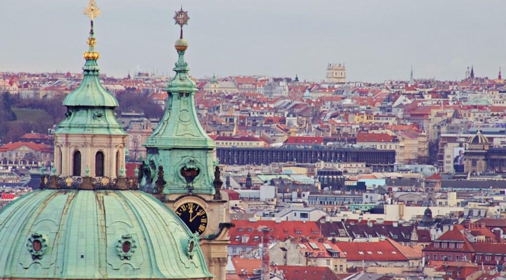 Praga dall'alto