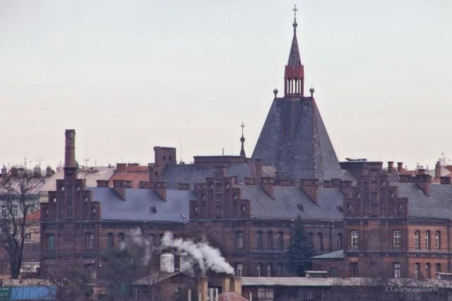 Praga, dall'alto del colle dei castelli
