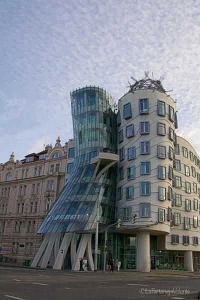 Praga, palazzo danzante