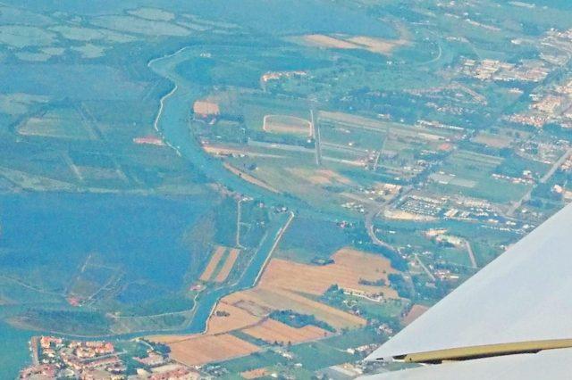 aguna di venezia dall aereo