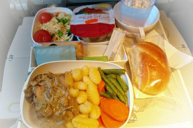 posto aereo, pasto in aereo