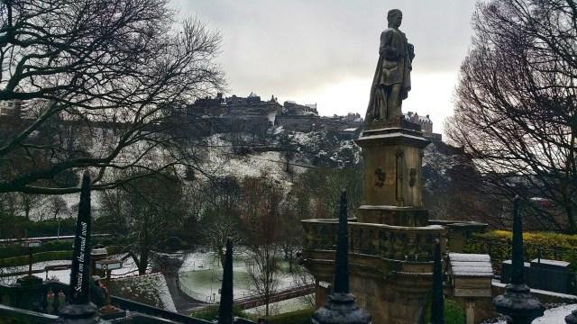 Natale nel Mondo, Scozia con la neve