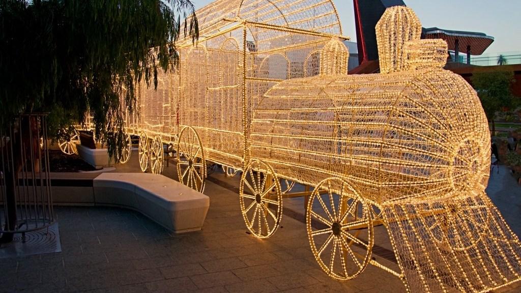 Natale nel mondo- carrozza a perth