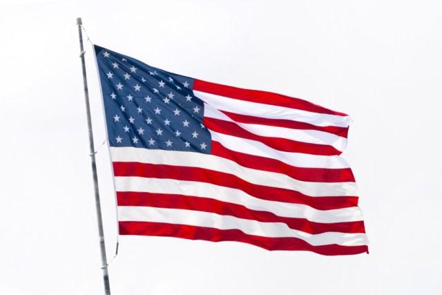 viaggi dei sogni, bandiera americana
