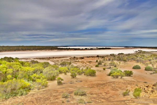 baladjie rock and lake, lake ballard e goldfields region