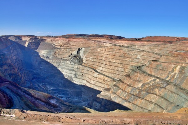 super pit lookout, lake ballard e goldfields region