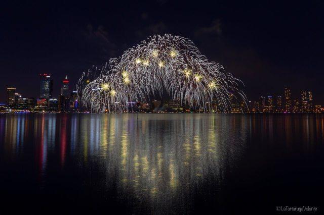 Come fotografare i fuochi d'artificio, perth 26