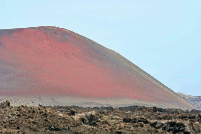 Lanzarote e la montagna rossa