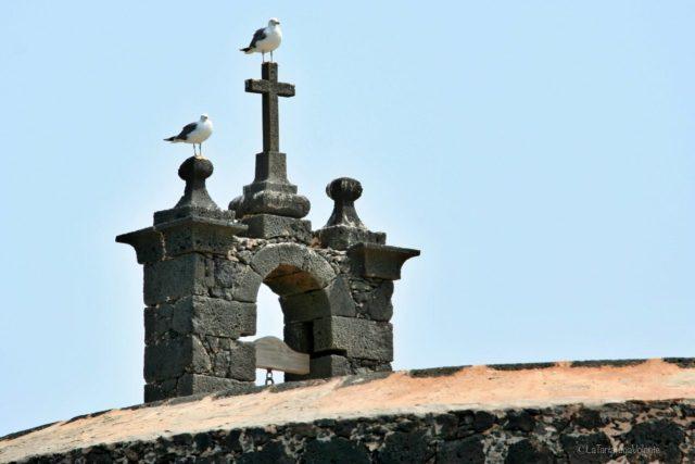 gabbiani e la chiesa