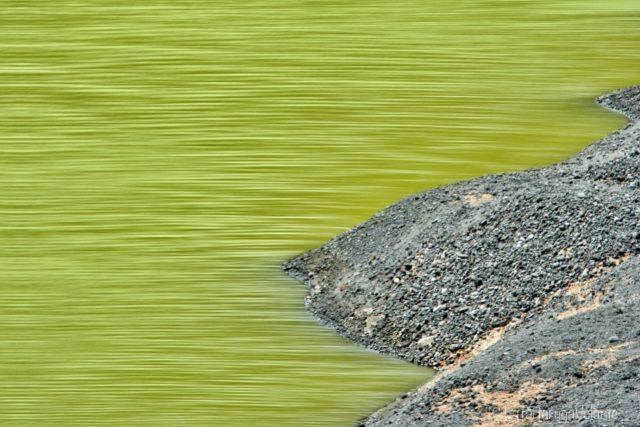 particolare della laguna verde