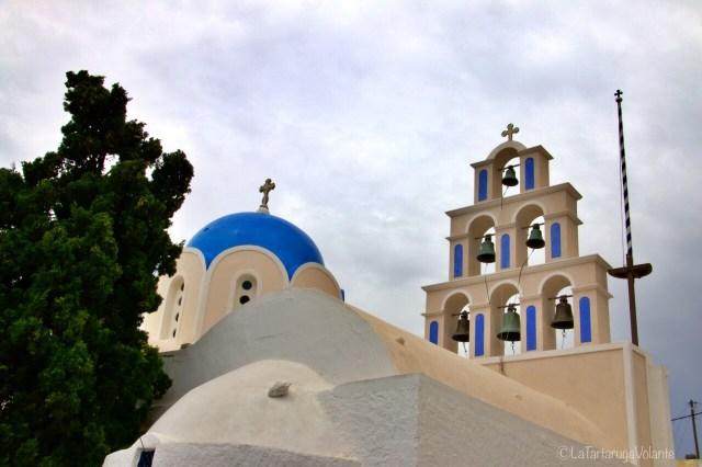 Santorini , particolare di chiesa