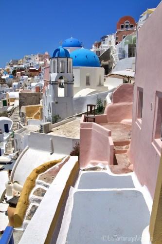 organizzare un viaggio a Santorini, Santorini , scorcio di Firostefani