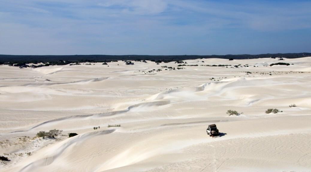 Viaggiare da soli nel deserto