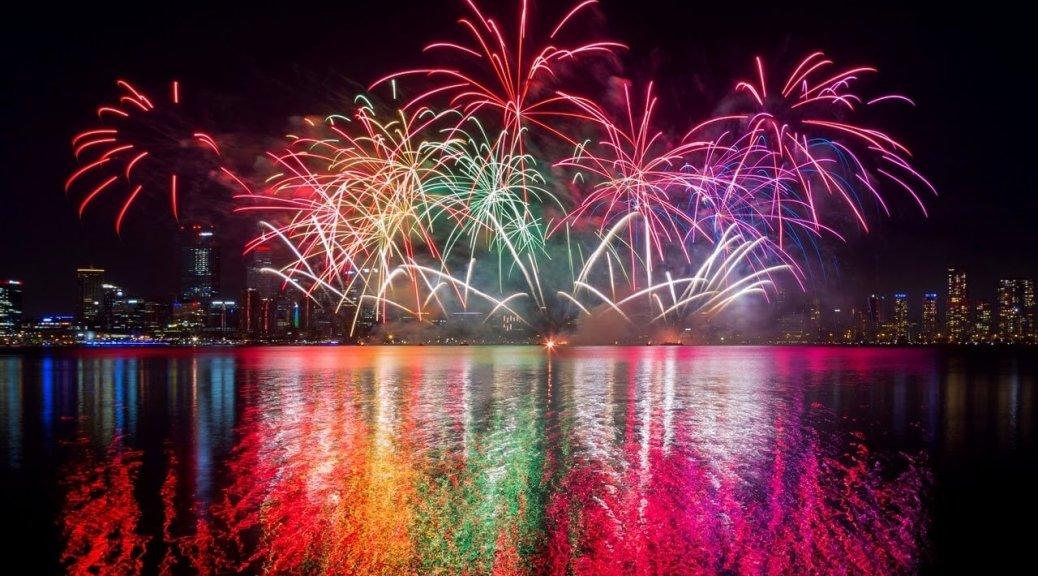 fuochi d'artificio perth 2019
